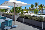 Mariner Commercial,  no-maintenance Multi-section Parapet Wall Planter