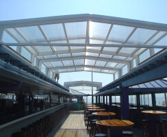 Martell's Tiki Bar Retractable Roofs