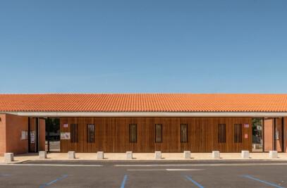 Extension de l'école Nicolas Poussin à Aucamville