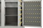Large Custom Valet Desk 96 Key Locker and hidden compartment