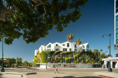 Gardenhouse – a 'hillside village' in the heart of Beverly Hills is complete