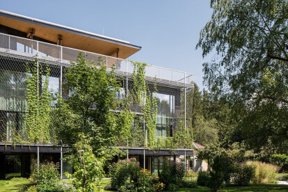 Snøhetta realize a lushly sustainable office space in timber for new ASI Reisen Headquarters