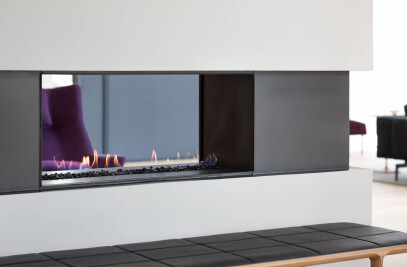 H Series See-Through Gas Fireplace
