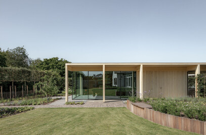 Circular Garden Pavilion
