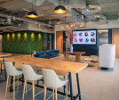 Communal lounge and breakout area