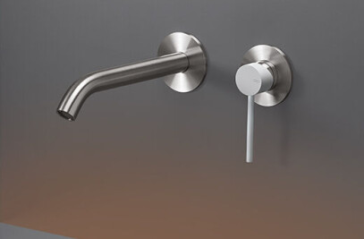 GAS05 - Wall mounted mixer with spout