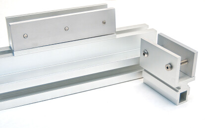 Compression mounts vary in size depending on panel attributes