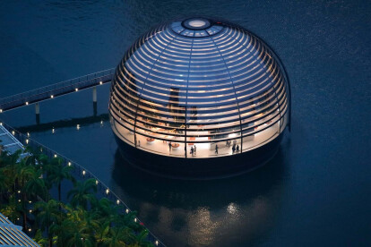 Latest collaboration from Apple and Foster + Partners opens in Singapore