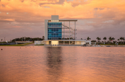 Nathan Benderson Park Finish Tower