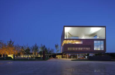 Exhibition Center facade section
