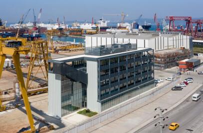 Gemak Shipyard Administration Office