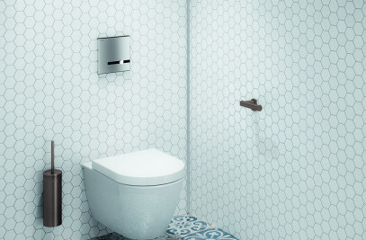 Concealed direct flush valve WC TE