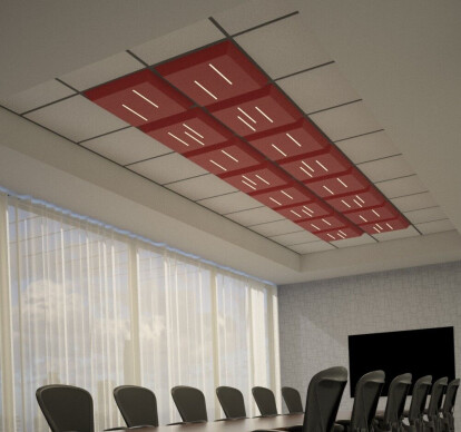 Lineal Lighted Drop Ceiling Tiles