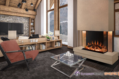 Tyrell Electric Fireplace