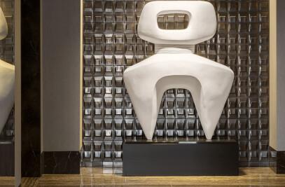 10000 building lobby tile