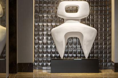 ModCraft tile, lobby of 10,000 Building