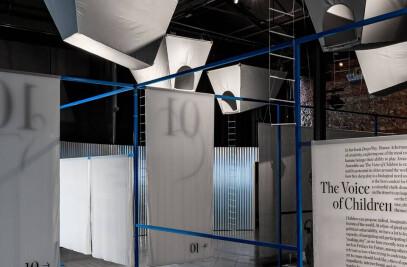 Twelve Cautionary Urban Tales. Exhibition Design