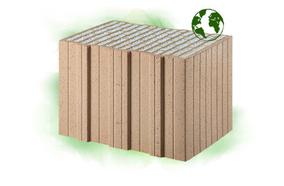 S9-P climate-neutral Poroton bricks