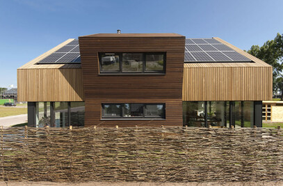 Eco, biobased villa near Amsterdam, Netherlands