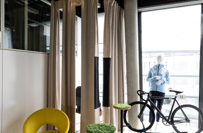 Sound Curtain OFFICE WINDOW