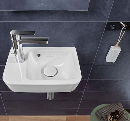 O.novo rectangular washbasins