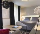 Indoor lighting at Hotel Chavanel