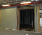 Clark Door Acoustic Horizontal Sliding Door in Open Position