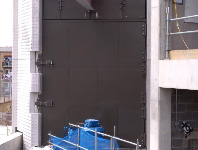 Clark Door Fire Rated and Acoustic Oversized Composite Swing Hinged Door