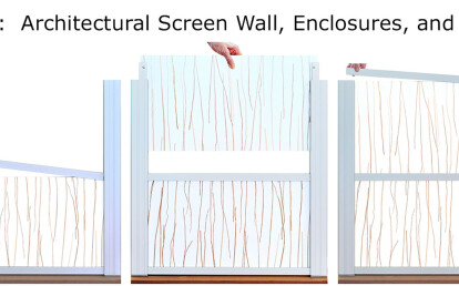 Slide-in-Easy Screen Wall Assembly
