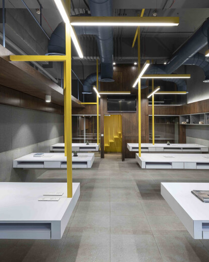 Suspended Office