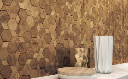 Accent Wall - Stereo Star