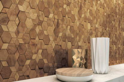 Mosaic Wall Tiles - Forest Elements