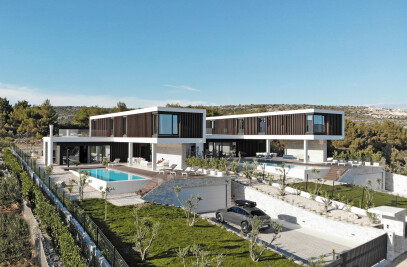 Twin Houses In Primošten