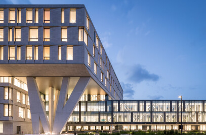 The New North Wing, Rigshospitalet, Copenhagen
