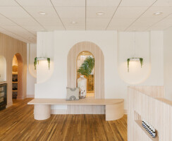 Arched Walls - Solid Wood Tambour