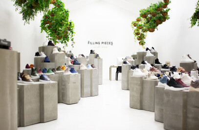 Concrete Sneaker Landscape