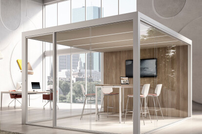 XCHANGE ACOUSTIC BOOTH - XW PARTITIONING