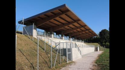 Nuova tribuna impianto sportivo Udine