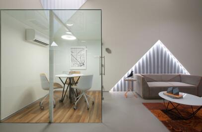 The Tetracube office