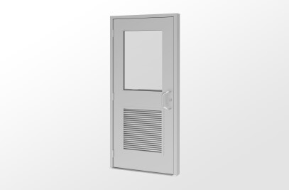25FD Flush Panel Entrance System