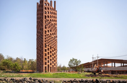 Brick Observation Tower