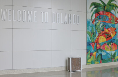 Orlando International Intermodal Airport Terminal