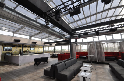Vetro Restaurant Retractable Roofs