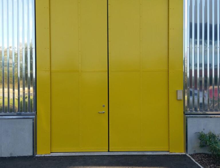 Clark Door Acoustic Double Leaf Oversized Swing/Hinged Door