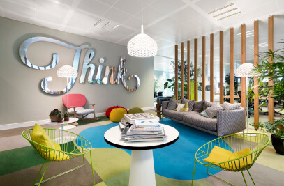 JWT Amsterdam Office Interior