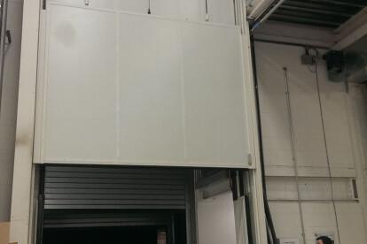 Clark Door Acoustic and Fire Rated Double Leaf Vertical Sliding Door