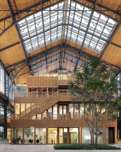 Monumental Gare Maritime in Brussels is restored and reimagined