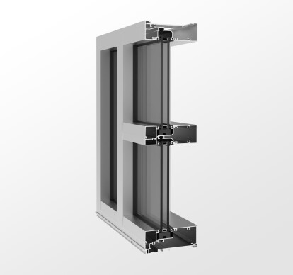 YES 60 FI Flush Glazed Storefront System with Insulating Glass
