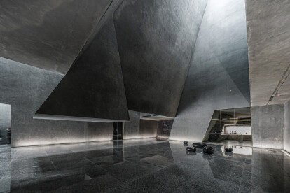 Crystallized forms generate dynamic spaces at the Yingliang Stone Natural History Museum