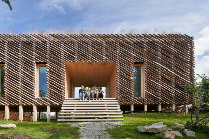 Skigard Hytte embeds the practicalities of Scandinavian design within the rural vernacular